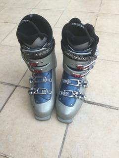 Botas Ski - En Excelente Estado - Poco Uso- Escarpin Nuevo