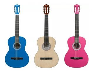 Guitarra Criolla Clasica Bamboo Funda Acolchada Alma Acero