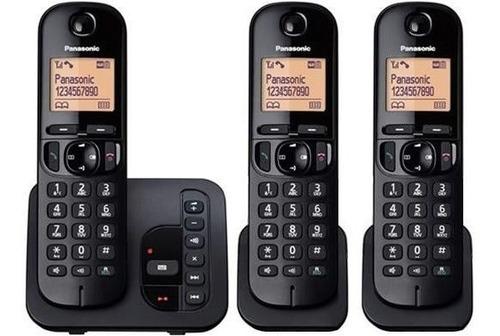 Telefono Inalambrico 3 Bases Con Contestador Dect Panason Ma