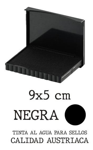 Almohadilla Para Sello Negra Traxx 9x5 Cm Zona Norte Promo!