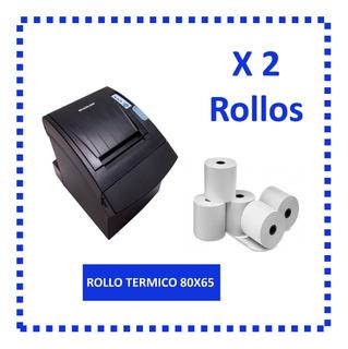 Rollo Termico 80x65mm
