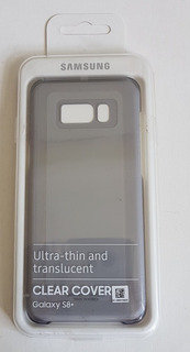 Capa Galaxy S8+ Samsung Clear Cover Ultra-thin Translucent