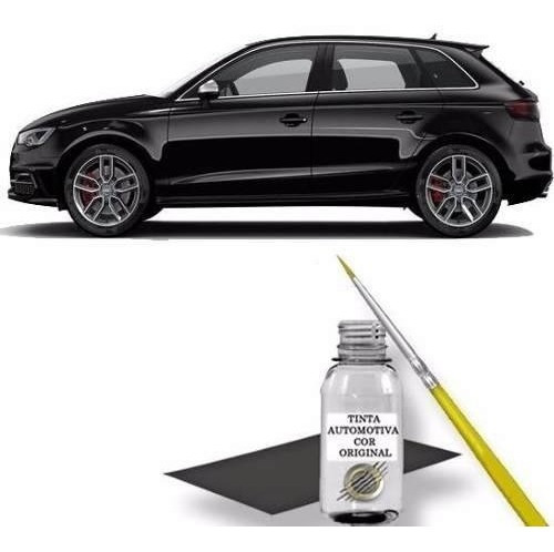 Retoque Tinta Automotiva Preto Brilhante Audi A3 A4 Sedan