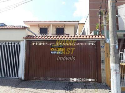 Sobrado Residencial À Venda, Parque Continental I, Guarulhos. - So0388
