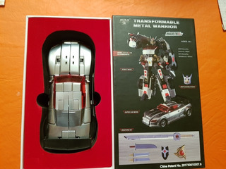 Transformers Fm Toys Escala Mp