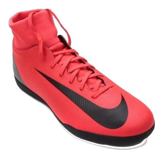 Chuteira Nike Mercurial Jr Superfly 6 Club Cr7 Ic + Nf
