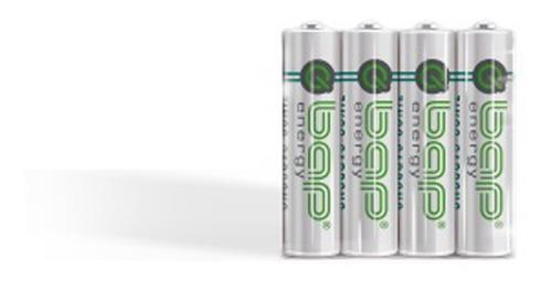 Imagem 1 de 2 de Pilha Aa 1,5 Volts Bap Energy Bap-r6 4 Unid Não Recarregável