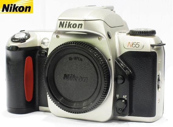 Câmera Nikon Reflex 35mm Modelo N65 Analógica - Só O Corpo