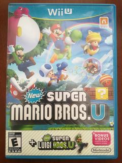 Juego New Super Marios Bros U Wii U
