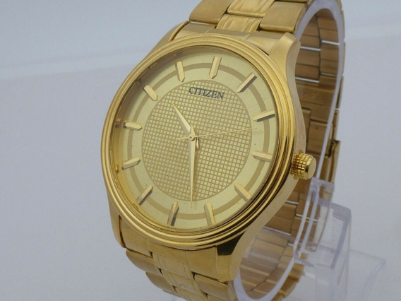Reloj Citizen Dorado Cuarzo 42 Mm Extensible Metalico (39)