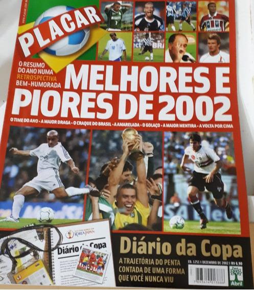 Revista Placar - Especial - Melhores E Piores Do Ano 2002
