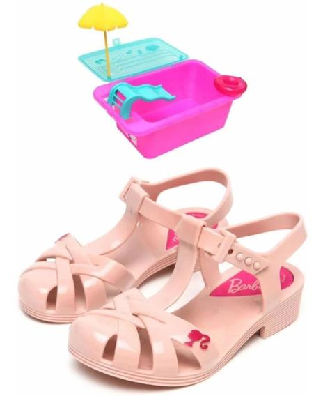 Sandália Barbie Piscina - Grendene Kids (só Rose Disponivel)