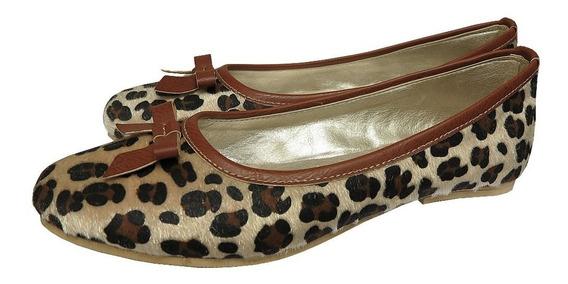 Zapatos Chatitas Balerinas Animal Print Nueva Temporada 2019