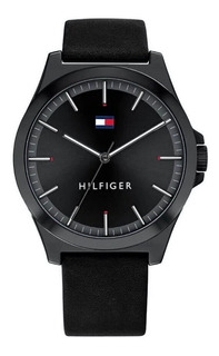 Reloj Tommy Hilfiger Hombre Barclay 1791715 Cuero Sumergible