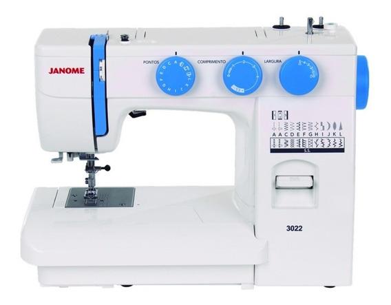 Máquina De Costura Com 22 Pontos Incluindo 1 Casa De Botão D
