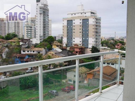 Flat Com 1 Dormitório Para Alugar, 58 M² - Glória - Macaé/rj - Fl0002
