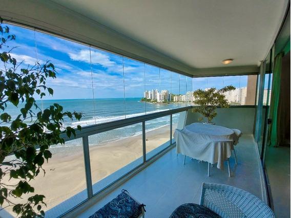 Guarujá Sp - Praia Das Astúrias - Frente Total Para O Mar - 2 Vagas - 4 Dormitórios Sendo 2 Suítes - Ap05228 - 68131384