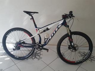 Scott Spark 710 Full Carbono Tam.m Semi Nova