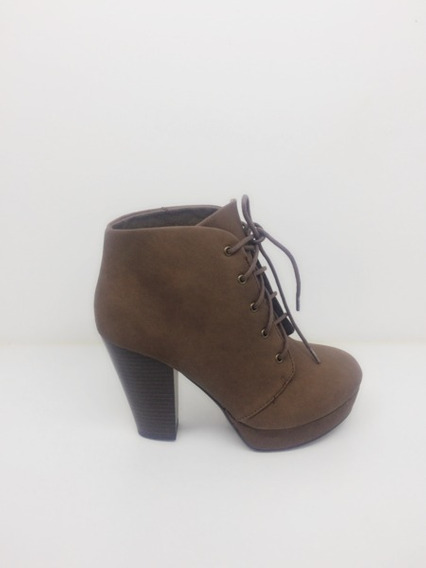 Botin Marca Soda Modelo Agenda Color Cafe