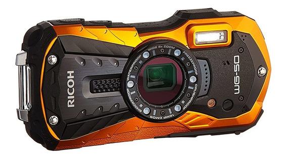 Camara Ricoh Wg-50 16mp Waterproof Still Video Digital 241