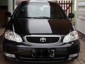 Toyota Corolla 2004 Seg 1.8 Preto Blindado