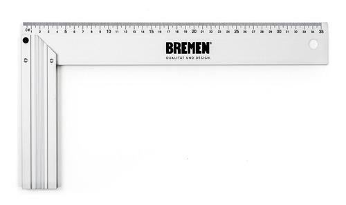 Imagen 1 de 7 de Escuadra De Aluminio 10  Cod.6823 Bremen