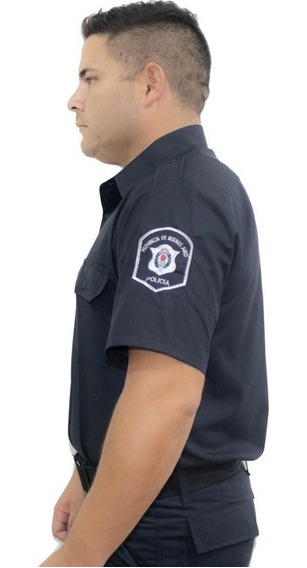 Camisa Policial Manga Corta Batista Provincia.