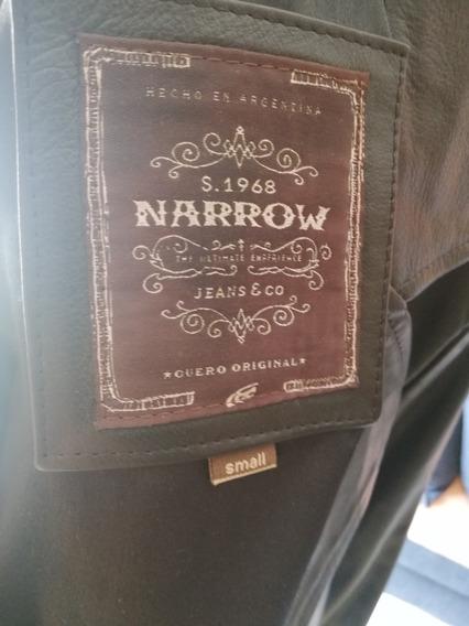 Campera De Cuero Narrow