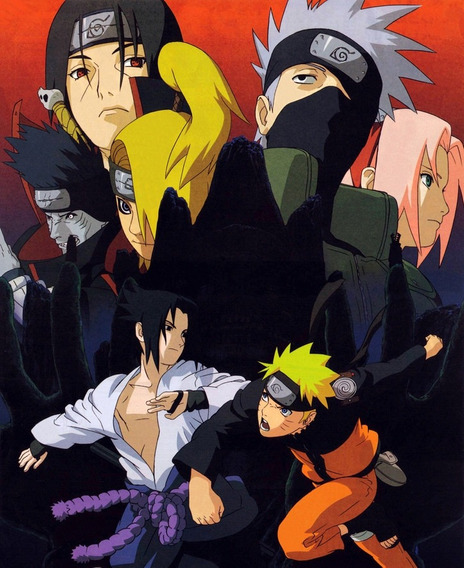 Dvd Naruto Shippuden Completo 590 Episódios (25 Dvds)