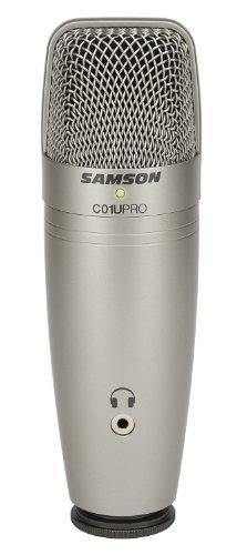 Micrófono De Condensador Samson C01u Pro Usb Studio
