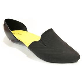 Boaonda Daisy, Zapato Flat Dama, Negro, Jelly Shoes, Comodos