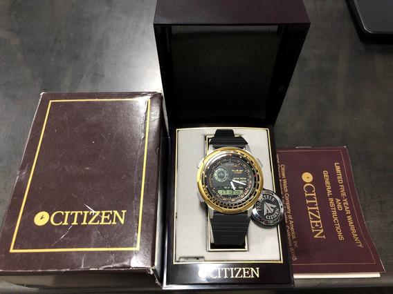 Citizen Wingman 8945 Série C100 Época Do Windsurf Na Caixa