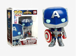 Funko Pop Marvel Civil Warrior - Wabro 6cuotas