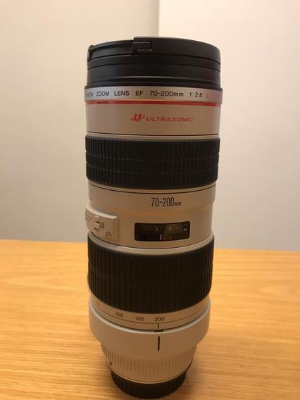 Lente Canon Ef 70:200mm F2.8l Usm