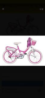 Bicicleta Liberty Rodado 16 Rosa.