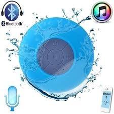Caixa Som Bluetooth Resistente Água Ventosa Viva Voz