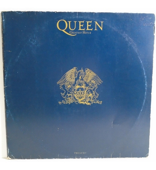 Queen 1991 Greatest Hits 2 Lp Kind Of Magic / Under Pressure
