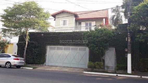 Sobrado Com 4 Dormitórios À Venda, 464 M² Por R$ 3.200.000 - Campo Belo - São Paulo/sp - So0019