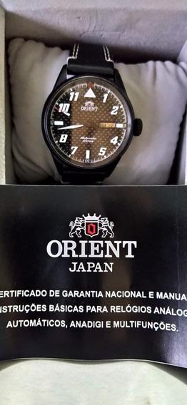Relógio Orient Automático Aço Ionizado 469bp001 P2pb 100 M
