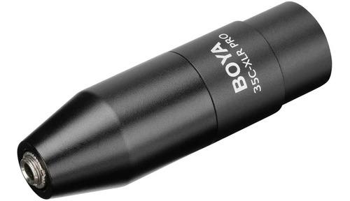 Imagen 1 de 5 de Boya 35c-xlr Pro Adaptador De Microfono De 3.5 Trs A Xlr M