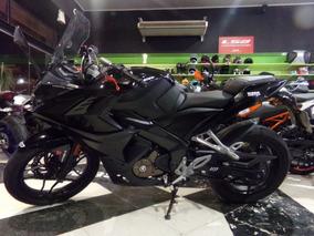 Motocicleta Bajaj Rouser Rs 200 2016 9300km Negra