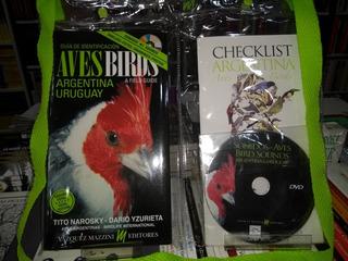 Aves De Argentina Y Uruguay Guia Identificar Aves C/dvd