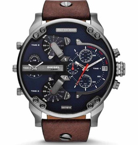 Relógio Genuíno Diesel Mr Daddy 2.0 Modelo: Dz7314 Em 12x