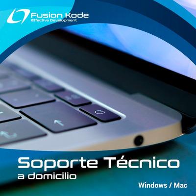 Soporte Tecnico Remoto En Computadoras Y Laptops A Domicilio