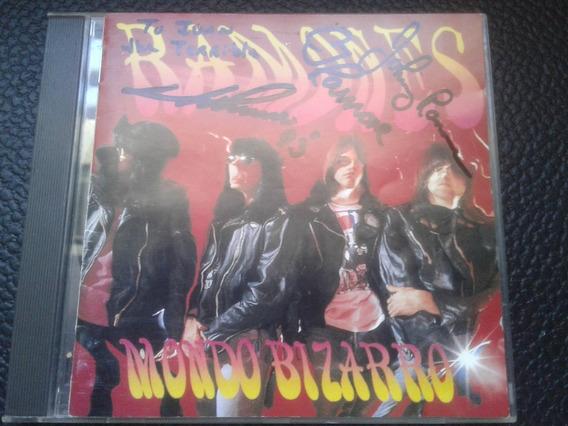 Ramones - Mondo Bizarro Cd Autografiado Joey Johnny Cj