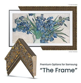 Tv Deco Tv Frames Tuscan Gold Frame Custom Any Size Samsung