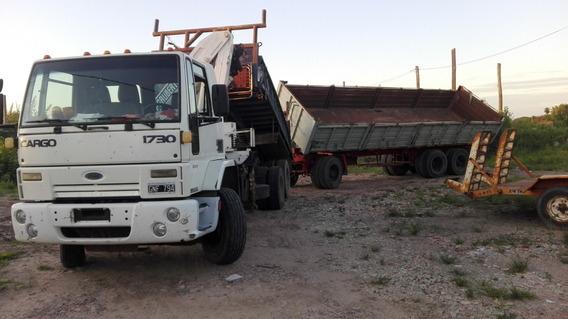 Ford Cargo 1730 2007 Balan.volc C/hidrogrua Y Acopl. Bivuelc