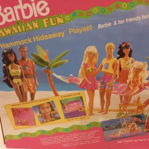 Imagem 1 de 8 de Barbie Hawaiian Fun Cenario Moveis Playset Tropical Praia