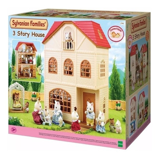 Casa Sylvanian Families 3 Pisos Original