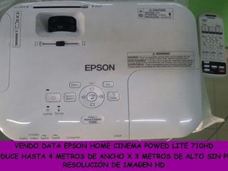 Data Show Home Cinema Epson Power Lite 710hd